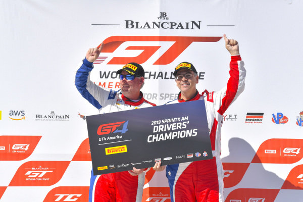 #51 Panoz Avezzano GT of Preston Calvert and Matthew Keegan with Team Panoz Racing  2019 Blancpain GT World Challenge America - Las Vegas, Las Vegas NV