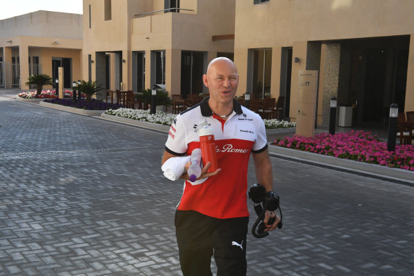 Mark Arnall, trainer to Kimi Raikkonen, Alfa Romeo Sauber F1 Team