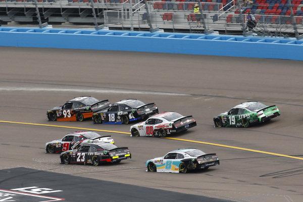 #93: Josh Bilicki, RSS Racing, Chevrolet Camaro RSS Racing and #18: Kyle Busch, Joe Gibbs Racing, Toyota Supra Extreme Concepts/iK9