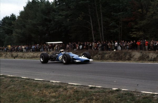 1968 United States Grand Prix.Watkins Glen, New York, USA.4-6 October 1968.Jackie Stewart (Matra MS10 Ford) 1st position.Ref-68 USA 50.World Copyright - LAT Photographic