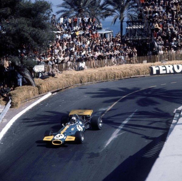 1970 Monaco Grand Prix.Monte Carlo, Monaco.7-10 May 1970.Jack Brabham (Brabham BT33 Ford) 2nd position.Ref-3/4037S.World Copyright - LAT Photographic