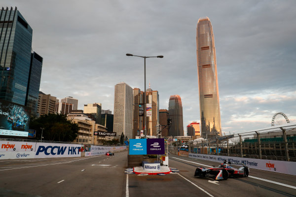 2017/2018 FIA Formula E Championship. Round 1 - Hong Kong, China. Saturday 02 December 2017. Edoardo Mortara (ITA) Venturi Formula E, Venturi VM200-FE-03. Photo: Sam Bloxham/LAT/Formula E ref: Digital Image _J6I3709