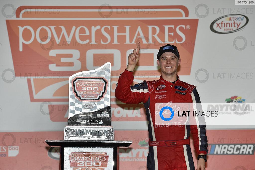 2017 Xfinity - Powershares QQQ 300 Daytona International Speedway, Daytona Beach, FL USA Saturday 25 February 2017 Ryan Reed World Copyright: Rusty Jarrett/LAT Images ref: Digital Image 17DAY1rj_05671