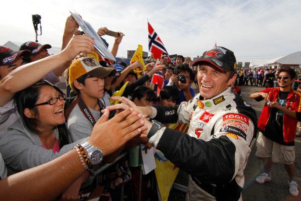 Petter Solberg (NOR), Citroen 2010 FIA World Rally Championship Round Rally Japan 9-12/9 2010 Worldwide Copyright: McKlein/LAT