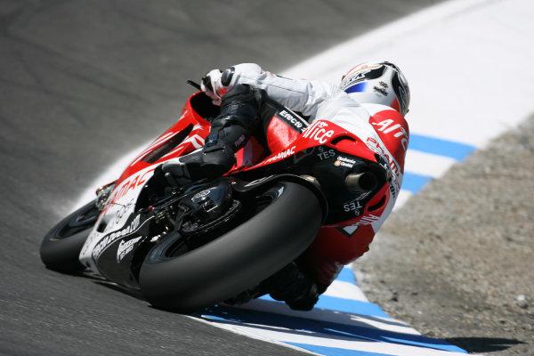 Laguna Seca, Monterey, USA.19 July 2008, MotoGP Qualifying.Sylvain Guintoli Alice Ducati Team.World Copyright: Martin Heath / LAT Photographicref: Digital Image BPI_Moto 5e2u