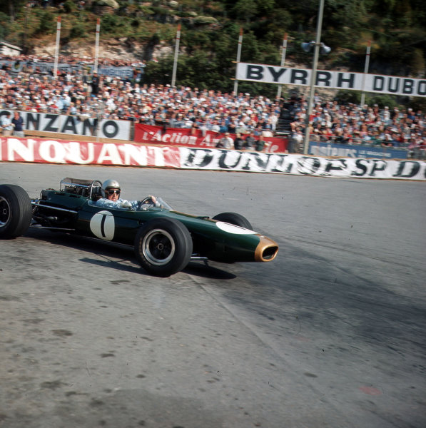 Monte Carlo, Monaco.28-30 May 1965.Jack Brabham (Brabham BT11 Climax).Ref-3/1635.World Copyright - LAT Photographic