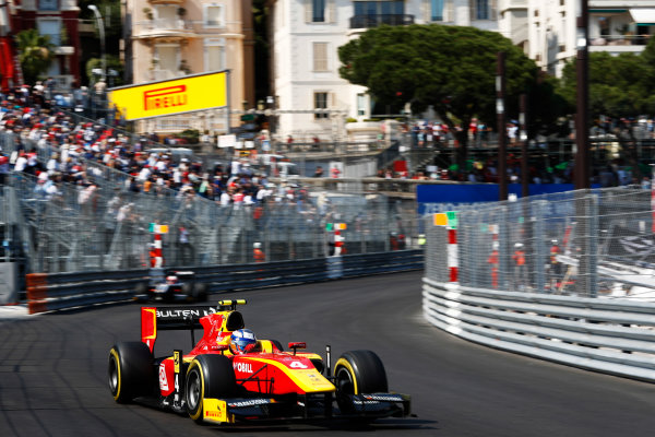 2017 FIA Formula 2 Round 3. Monte Carlo, Monaco. Saturday 27 May 2017. Gustav Malja (SWE, Racing Engineering)  Photo: Zak Mauger/FIA Formula 2. ref: Digital Image _X4I9561