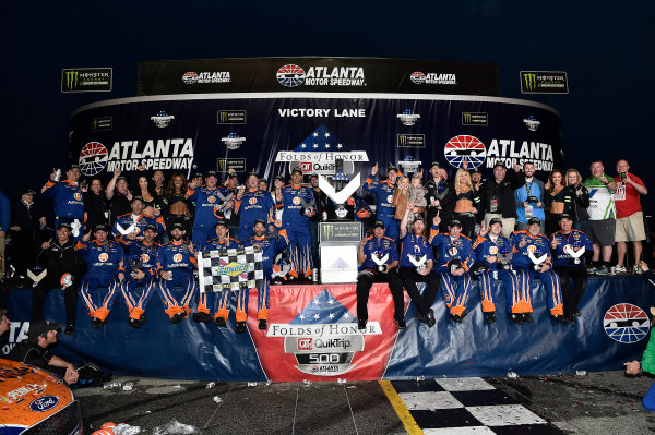 2017 Monster Energy NASCAR Cup Series - Fold of Honor QuikTrip 500 Atlanta Motor Speedway, Hampton, GA USA Sunday 5 March 2017 Brad Keselowski World Copyright: Rusty Jarrett/LAT Images ref: Digital Image 17ATL1rj_2873