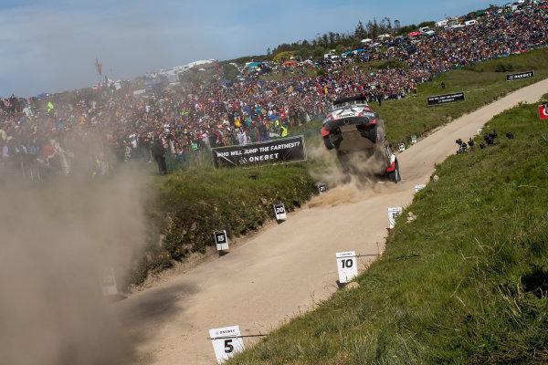 2017 FIA World Rally Championship, Round 06, Rally Portugal, May 18 - 21 2017, Quentin Gilbert, Skoda, crash, Worldwide Copyright: McKlein/LAT