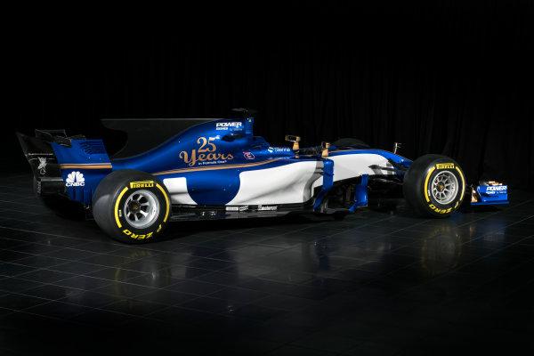Sauber C36-Ferrari Launch. Monday 20 February 2017. Studio image of the Sauber C36-Ferrari. World Copyright: Sauber F1 Team.
