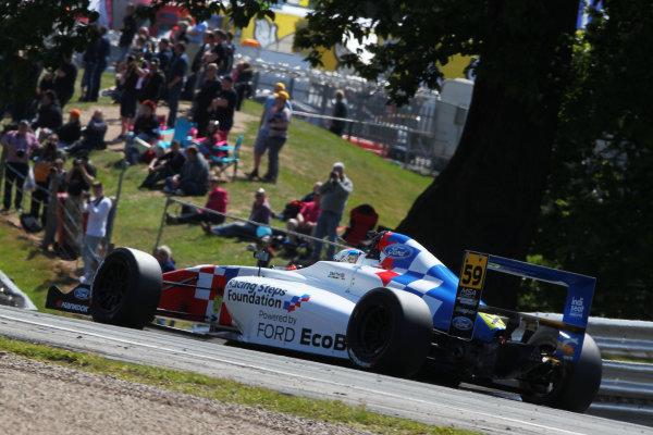 2015 MSA Formula Powered by Ford EcoBoost, Oulton Park, Cheshire. 5th - 7th June 2015. Josh Smith (GBR) Fortec Motorsports MSA Formula. World Copyright: Ebrey / LAT Photographic.