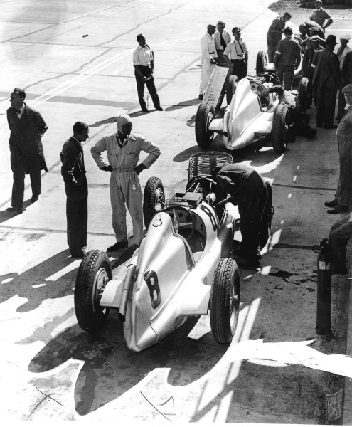 Nurburgring, Germany.28 July 1935.Hans Geier (Mercedes-Benz W25B), 7th position.Ref-Autocar S76/286.World Copyright - LAT Photographic