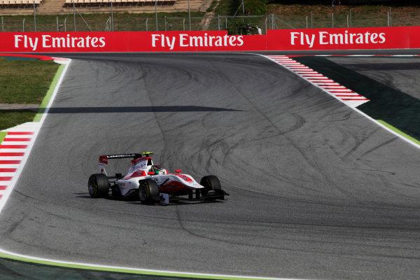 2015 GP3 Series Round 1. Circuit de Catalunya, Barcelona, Spain. Sunday 10 May 2015. Marvin Kirchhofer (GER, ART Grand Prix). Photo: Zak Mauger/GP3 Series Media Service. ref: Digital Image _MG_7287