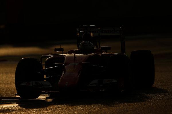 2015 F1 Pre Season Test 3 - Day 4 Circuit de Catalunya, Barcelona, Spain. Thursday  Sunday 1 March 2015. Sebastian Vettel, Ferrari SF15-T.  World Copyright: Sam Bloxham/LAT Photographic. ref: Digital Image _14P5445