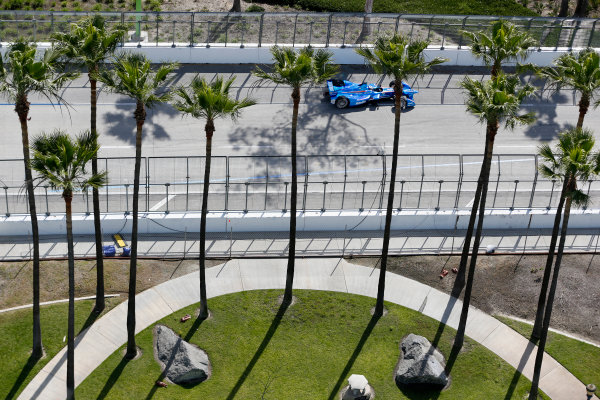 2014/2015 FIA Formula E Championship. Long Beach ePrix, Long Beach, California, United States of America. Friday 3 April 2015 Antonio Felix Da Costa (POR)/Amlin Aguri - Spark-Renault SRT_01E  Photo: Jed Leicester/LAT/Formula E ref: Digital Image _JL10588