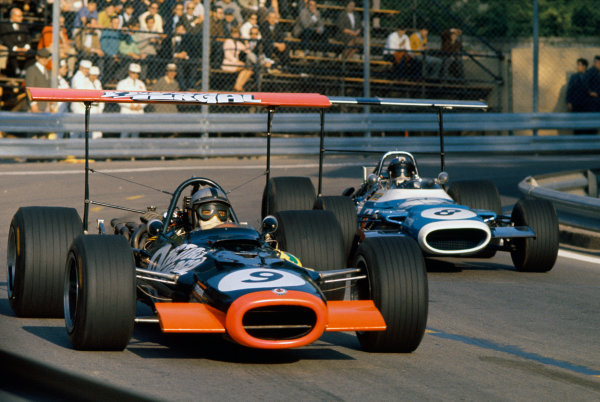 Montjuich Park, Spain. 4 May 1969.Pedro Rodriguez, B.R
