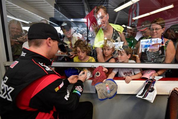 30 June-2 July, 2016, Daytona Beach, Florida USA Denny Hamlin, FedEx Toyota Camry ?2016, Logan Whitton  LAT Photo USA
