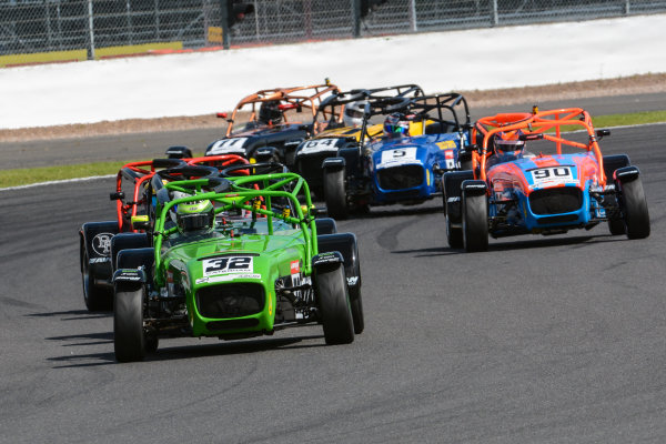 2017 Avon Tyres Caterham Seven 420-R Championship, Silverstone, 11th-12th June 2017, Lee Wiggins Caterham 420R. World copyright. JEP/LAT Images
