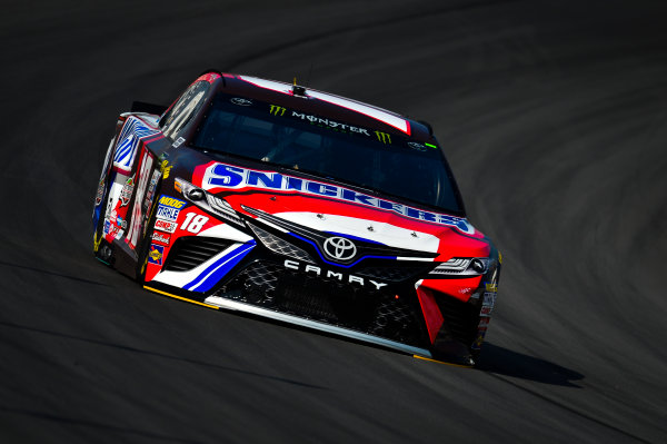Monster Energy NASCAR Cup Series Quaker State 400 Kentucky Speedway, Sparta, KY USA Friday 7 July 2017 Kyle Busch, Joe Gibbs Racing, Snickers Toyota Camry World Copyright: Barry Cantrell LAT Images
