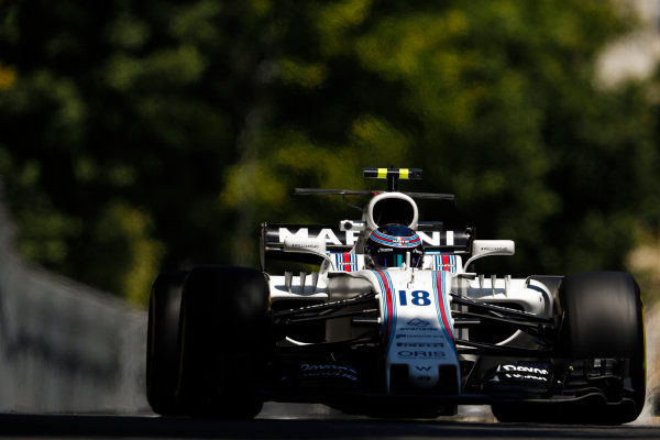 Baku City Circuit, Baku, Azerbaijan. Friday 23 June 2017. Lance Stroll, Williams FW40 Mercedes. World Copyright: Glenn Dunbar/LAT Images ref: Digital Image _X4I0101
