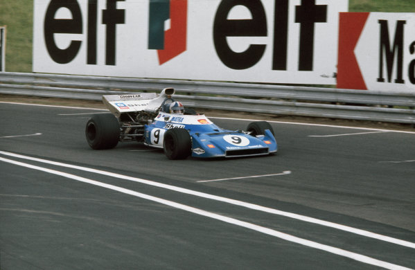 Clermont-Ferrand, France. 30 June-2 July 1972.Chris Amon (Matra-Simca MS120D), 4th position, action.World Copyright: LAT PhotographicRef: 35mm transparency .