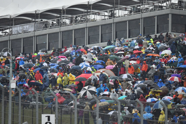 Fans at Formula One World Championship, Rd16, United States Grand Prix, Race, Austin, Texas, USA, Sunday 25 October 2015.