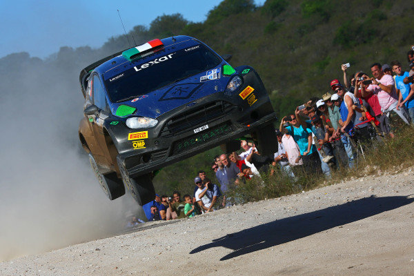 Lorenzo Bertelli (ITA) / Simone Scattolin (ITA), FWRT SRL Ford Fiesta RS WRC at World Rally Championship, Rd4, Rally Argentina, Day One, Villa Carlos Paz, Cordoba, Argentina, 22 April 2016.