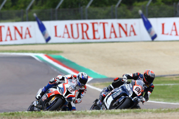 Jordi Torres, Team Pedercini, Markus Reiterberger, BMW Motorrad WorldSBK Team.