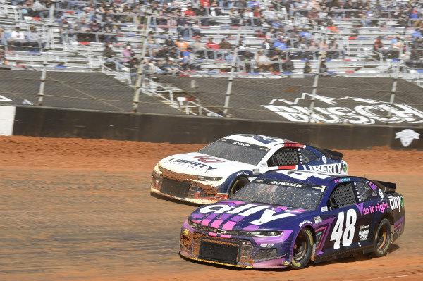 #48: Alex Bowman, Hendrick Motorsports, Chevrolet Camaro Ally, #24: William Byron, Hendrick Motorsports, Chevrolet Camaro Liberty University