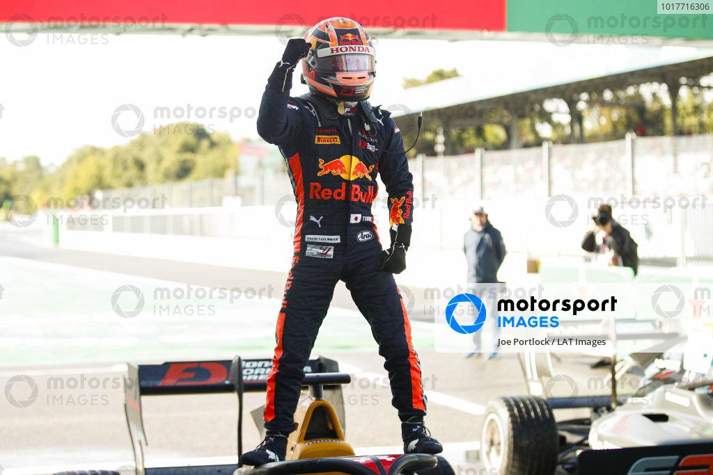 AUTODROMO NAZIONALE MONZA, ITALY - SEPTEMBER 08: Yuki Tsunoda (JPN) Jenzer Motorsport during the Monza at Autodromo Nazionale Monza on September 08, 2019 in Autodromo Nazionale Monza, Italy. (Photo by Joe Portlock / LAT Images / FIA F3 Championship)