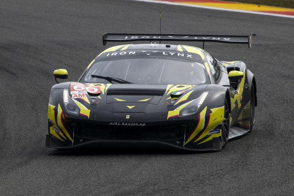 #66 Iron Lynx Ferrari 488 GTE EVO: Claudio Schiavoni, Andrea Piccini, Matteo Cressoni