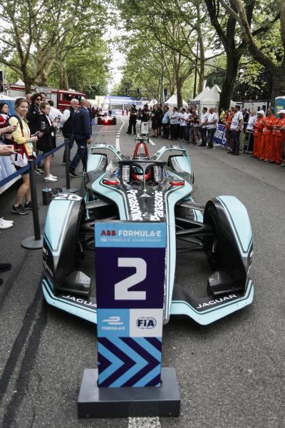 Mitch Evans (NZL), Panasonic Jaguar Racing, Jaguar I-Type 3, 2nd position