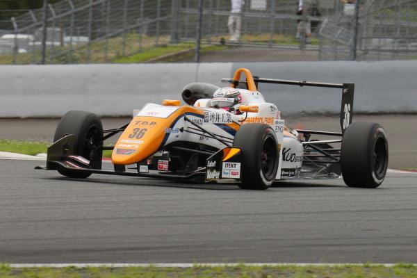 Sho Tsuboi ( #36 Corolla Chukyo Kuo TOM'S Dallara F317 Toyota), 2nd position.