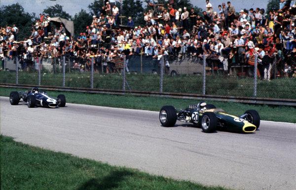 1967 Italian Grand Prix. Monza, Italy. 8-10 September 1967. Jim Clark (Lotus 49 Ford). World Copyright - LAT Photographic 67 ITA 01