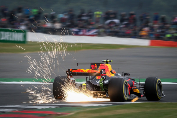 Max Verstappen (NED) Red Bull Racing RB13 at Formula One World Championship, Rd10, British Grand Prix, Qualifying, Silverstone, England, Saturday 15 July 2017. BEST IMAGE