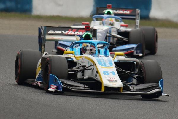 Harrison Newey, B-Max Racing with Motopark, Dallara SF19 Honda, 3rd