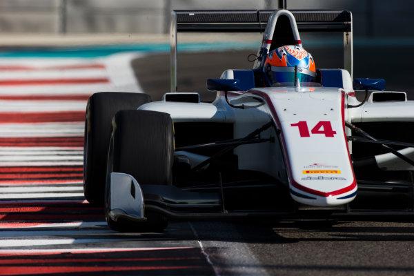 2016 GP3 Series Test 5. Yas Marina Circuit, Abu Dhabi, United Arab Emirates. Friday 2 December 2016. Tarun Reddy (IND, Koiranen GP)  Photo: Sam Bloxham/GP3 Series Media Service. ref: Digital Image _SLB4179