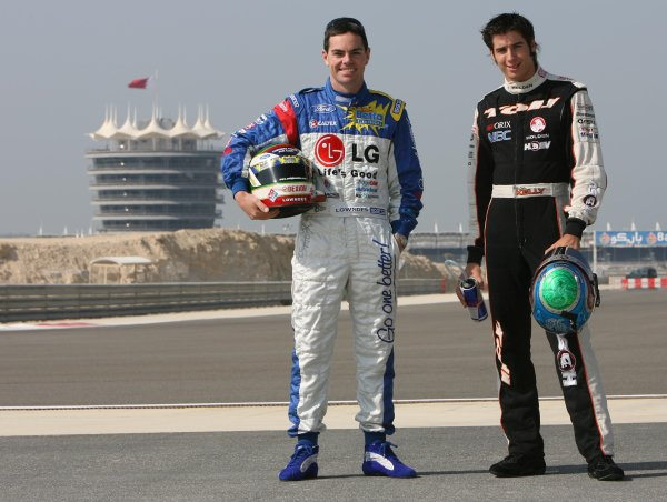 V8 Supercars Championship Round 12. V8 Supercars Championship leader Rick Kelly and   second place driver Craig Lowndes in Bahrain for the V8 Supercars Desert 400 this week. November 23-25, 2006. Mark Horsburgh
