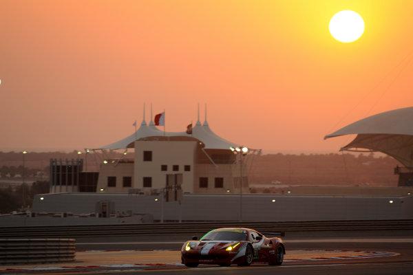 Bahrain, 27th-29th September 2012,Giancarlo Fisichella/Toni Vilander AF Corse Ferrari 458 ItaliaWorld copyright: Ebrey/LAT Photographic