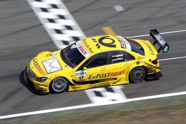 David Coulthard (GBR), Deutsche Post AMG Mercedes.