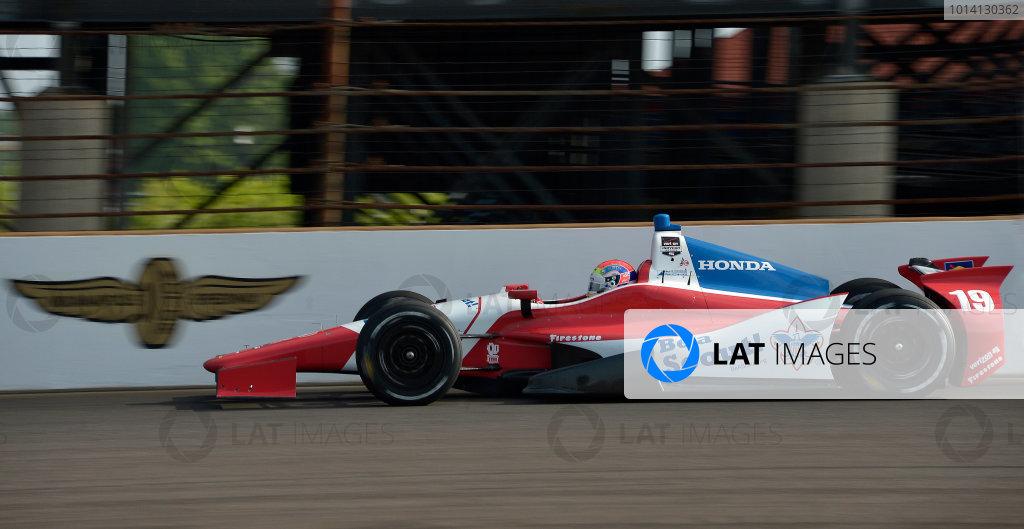 17-18 May, 2014, Indianapolis, Indiana, USA #19 Justin Wilson, Dale Coyne Racing ©2014 Dan R. Boyd LAT Photo USA