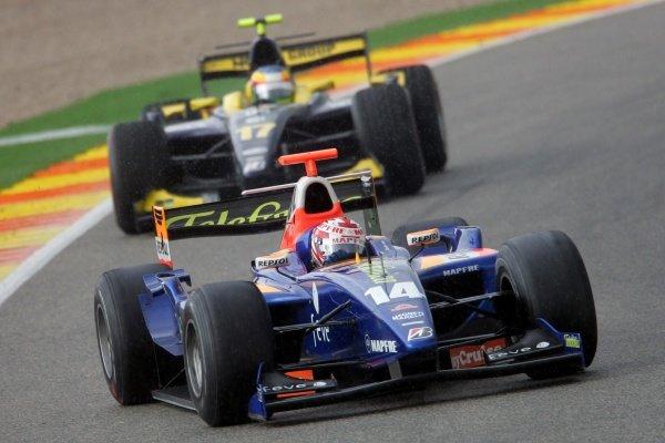 Javier Villa (ESP) Racing Engineering  GP2 Series, Rd 11, Race One, Valencia, Spain, Saturday 29 September 2007.