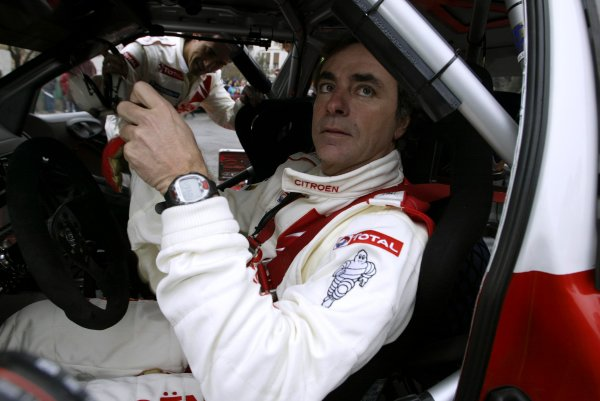 2004 FIA World Rally ChampionshipMonte Carlo Rally, Monte Carlo, 23rd - 25th January.Carlos Sainz (Citroen Xsara WRC). Sainz retired from the rally on SS9. Portrait.World Copyright: McKlein/LATref: Digital Image Only