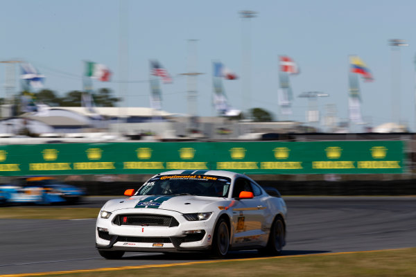 27-29 January, 2016, Daytona Beach, Florida USA  15, Ford, Shelby GT350R-C, GS, Scott Maxwell, Billy Johnson ?2016, Michael L. Levitt LAT Photo USA