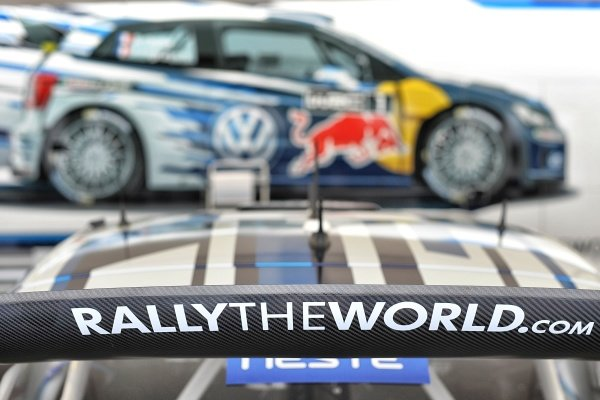 Wing Volkswagen Polo R WRC at FIA World Rally Championship, R8, Neste Oil Rally Finland, Preparations & Shakedown, Jyvaskyla, Finland, Thursday 30 July 2015.