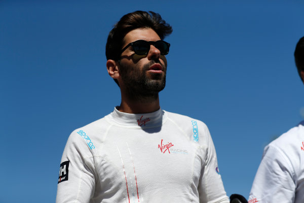 2014/2015 FIA Formula E Championship. Jaime Alguersuari (SPA)/Virging Racing - Spark-Renault SRT_01E  Long Beach ePrix, Long Beach, California, United States of America. Saturday 4 April 2015  Photo: Adam Warner/LAT/FE ref: Digital Image _L5R7030