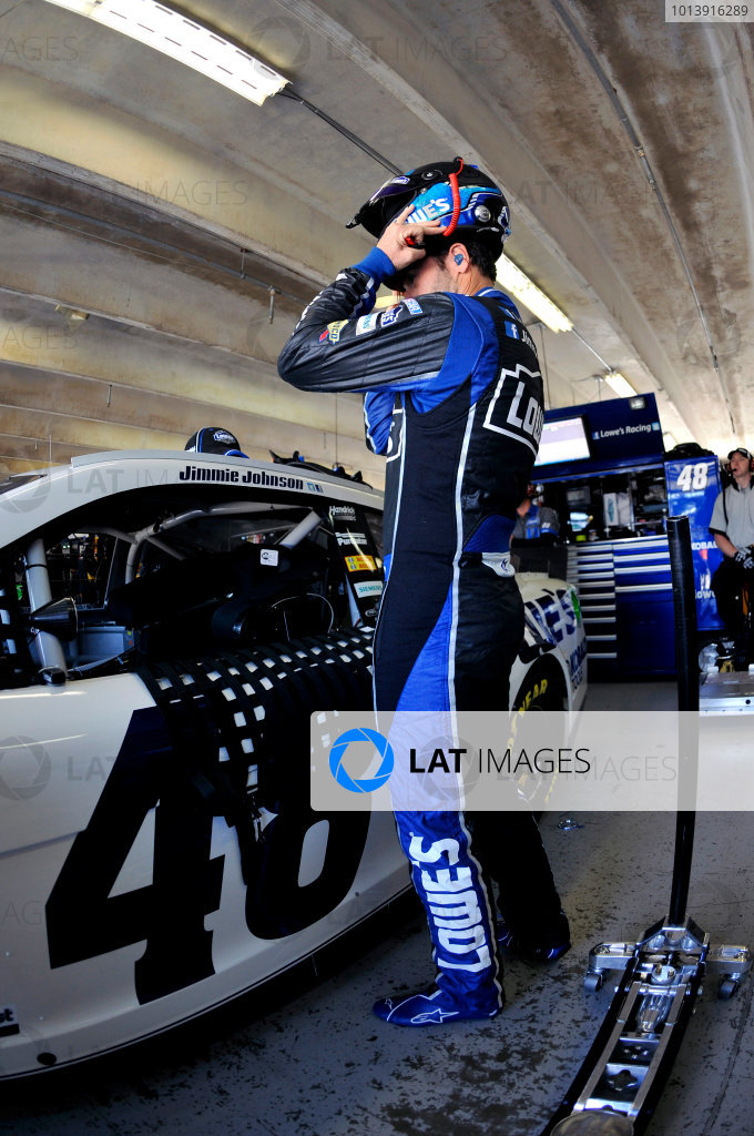 11-13 April, 2013, Fort Worth, Texas USA Jimmie Johnson ©2013, Nigel Kinrade LAT Photo USA
