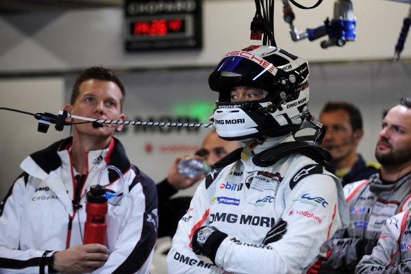 2017 FIA World Endurance Championship, Fuji, Japan. 13th-15th October 2017, #1 Porsche LMP Team Porsche 919 Hybrid:Andre Lotterer World copyright. JEP/LAT Images