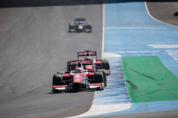 2017 FIA Formula 2 Round 10. Circuito de Jerez, Jerez, Spain. Sunday 8 October 2017. Antonio Fuoco (ITA, PREMA Racing).  Photo: Andrew Ferraro/FIA Formula 2. ref: Digital Image _FER3384