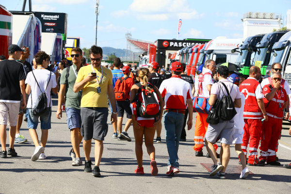 2017 Superbike World Championship - Round 7 Misano, Italy. Sunday 18 June 2017 Paddock World Copyright: Gold and Goose Photography/LAT Images ref: Digital Image WSBK-SunPre-100-7688